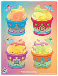 Kawaii Italian Ice Quartet