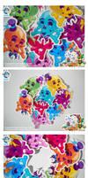 Kawaii Halloween Skull Vinyls