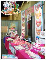 Kawaii Table at Supercon 2009 by KawaiiUniverseStudio