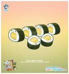 Kawaii Tomago Sushi Roll