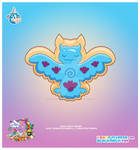Kawaii Owl Sugar Cookie