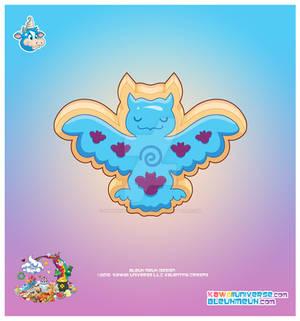 Kawaii Owl Sugar Cookie