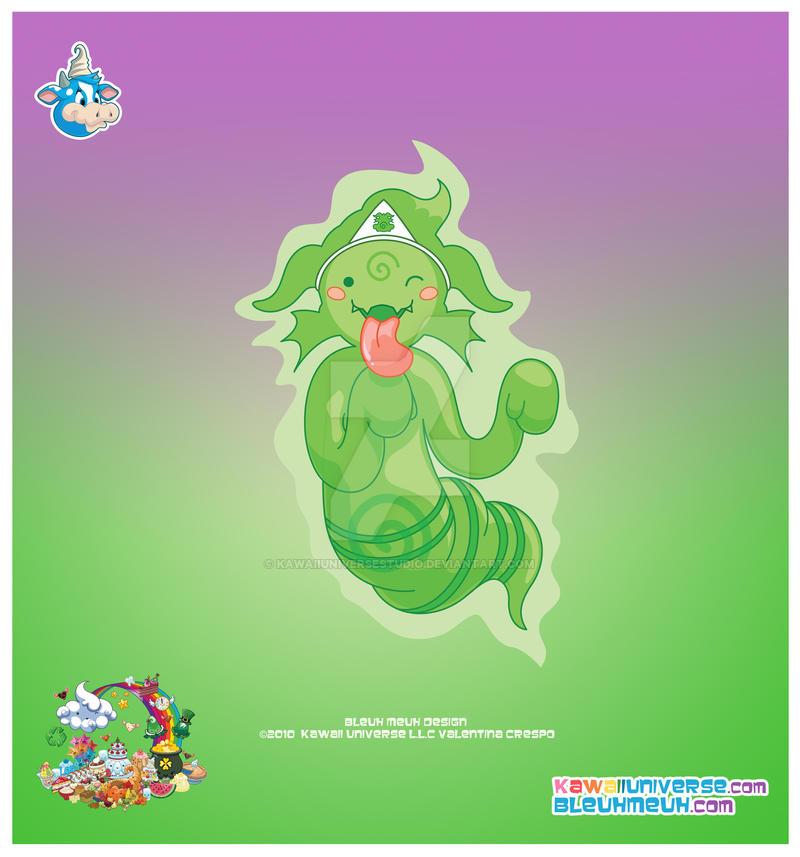 Kawaii Obake Monster Phantom by KawaiiUniverseStudio