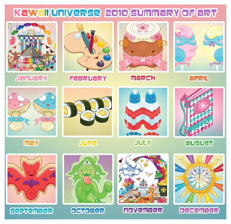 Kawaii 2010 Art Summary Meme by KawaiiUniverseStudio