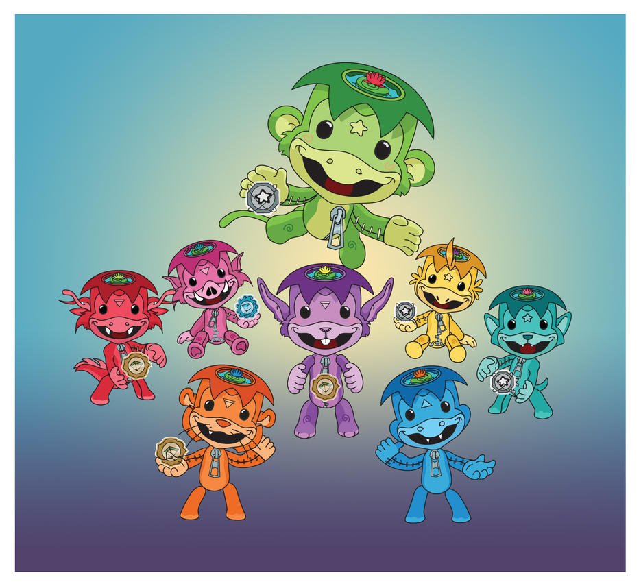 Kawaii LBP Zodiac Creatures by KawaiiUniverseStudio