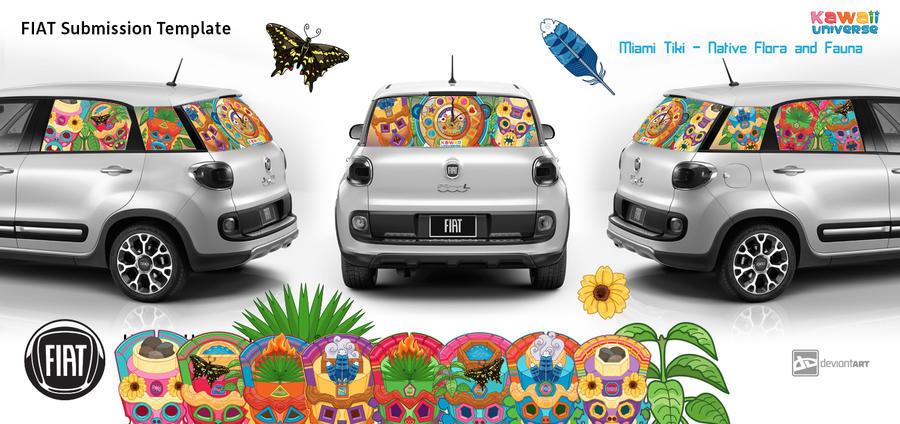 Fiat Submission Kawaii Universe - Miami Tiki by KawaiiUniverseStudio