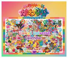 Kawaii Universe Calendar 2017 by KawaiiUniverseStudio
