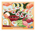 Kawaii Universe - Cute Sushi Bonanza ( September )