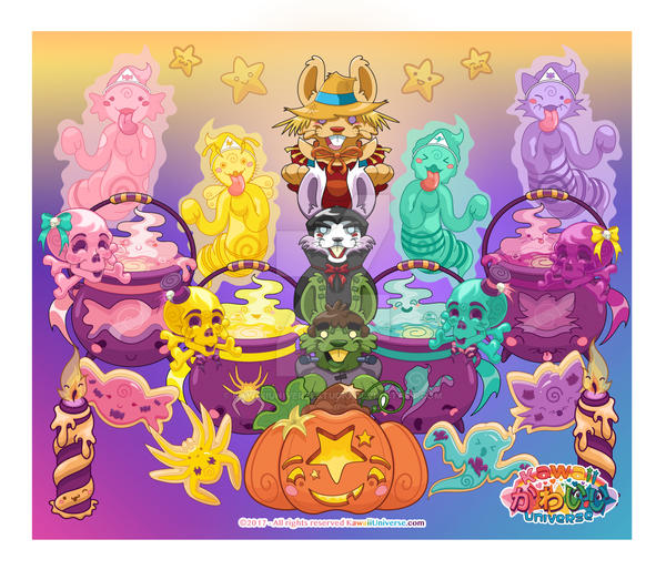 Kawaii Universe - Spooky Cute Halloween (October) by KawaiiUniverseStudio