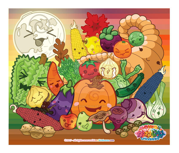 Kawaii Universe - Cute Harvest A to Z (November) by KawaiiUniverseStudio