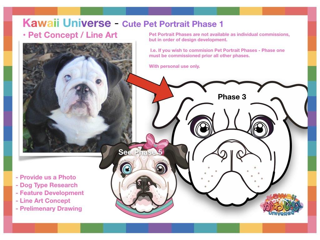 Kawaii Universe Cute Pet Portrait Comissions.002
