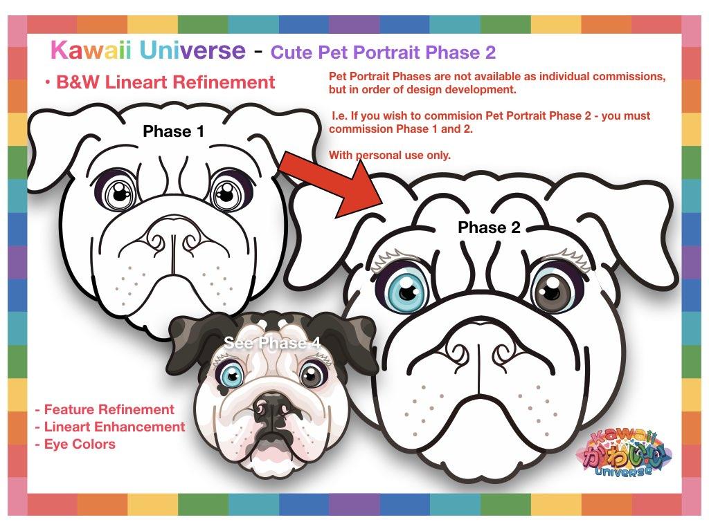 Kawaii Universe Cute Pet Portrait Comissions.003