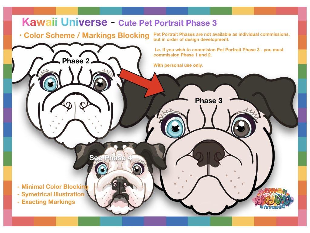 Kawaii Universe Cute Pet Portrait Comissions.004