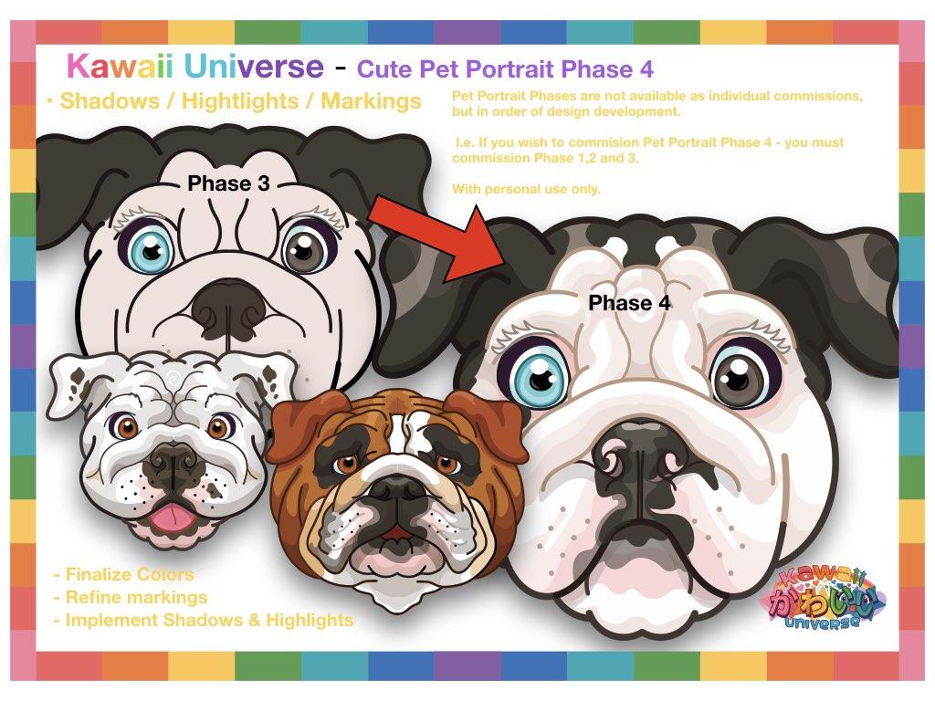 Kawaii Universe Cute Pet Portrait Comissions.005