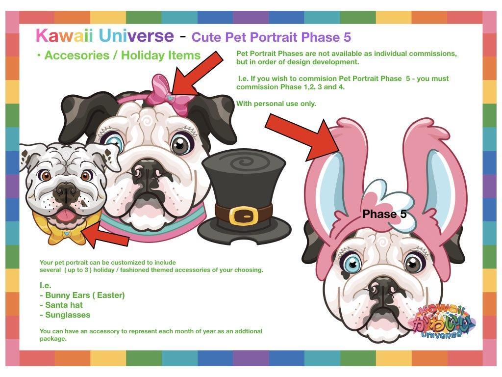 Kawaii Universe Cute Pet Portrait Comissions.006
