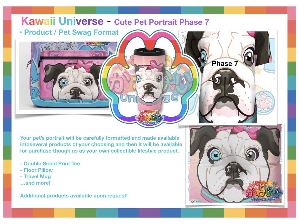 Kawaii Universe Cute Pet Portrait Comissions.008