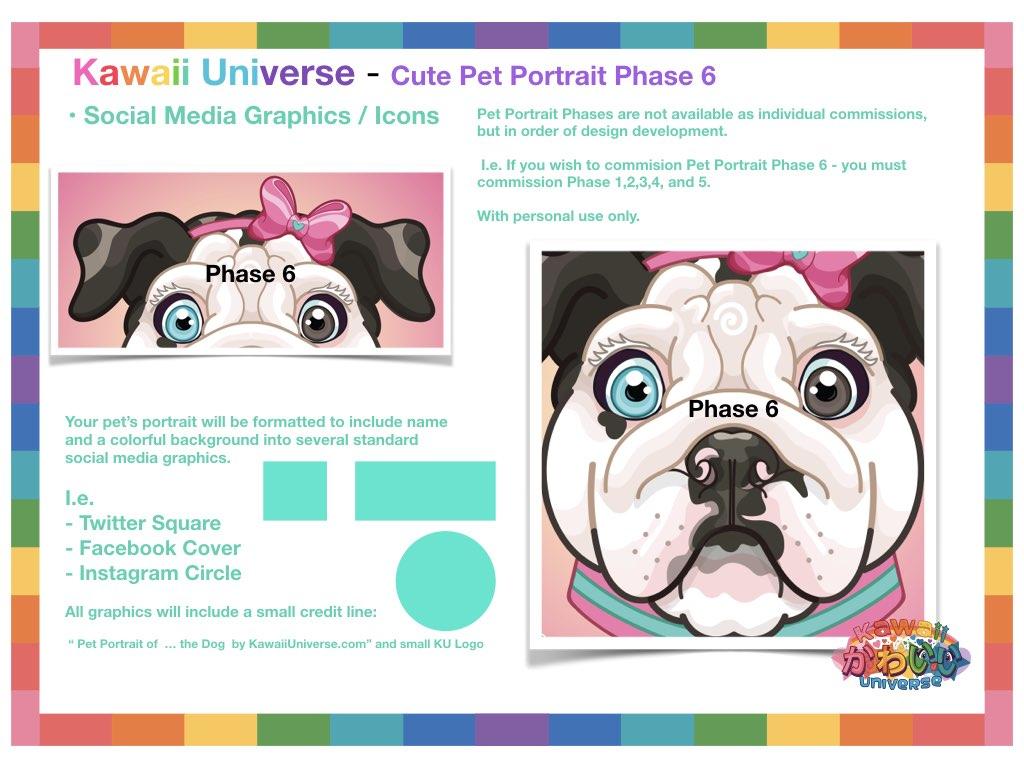 Kawaii Universe Cute Pet Portrait Comissions.007
