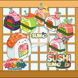 @KawaiiUniverse - Sushi Sumo Live Stream Join us!