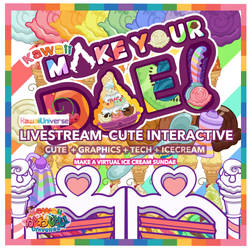 Kawaii Make Your Dae Interactive Mini Game