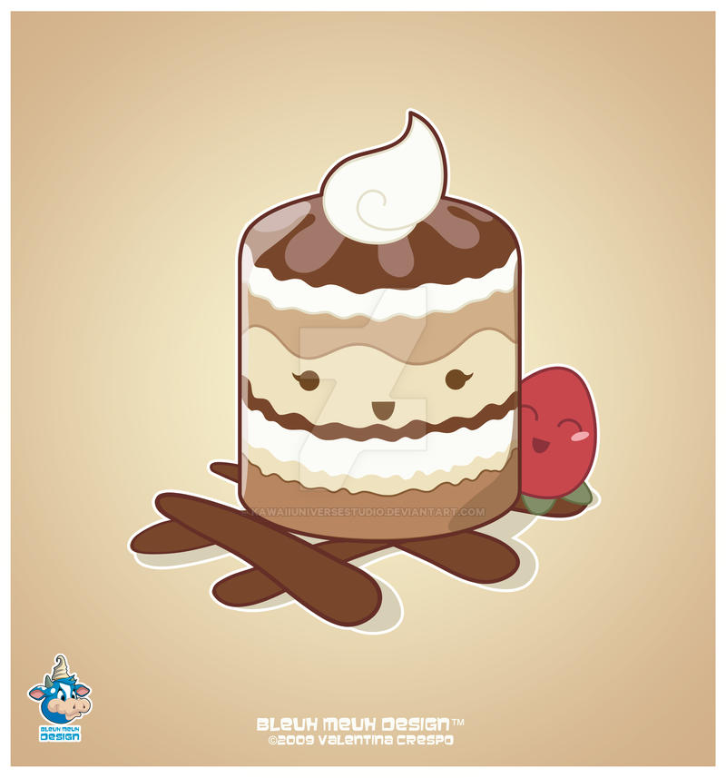 Kawaii Tiramisu by KawaiiUniverseStudio