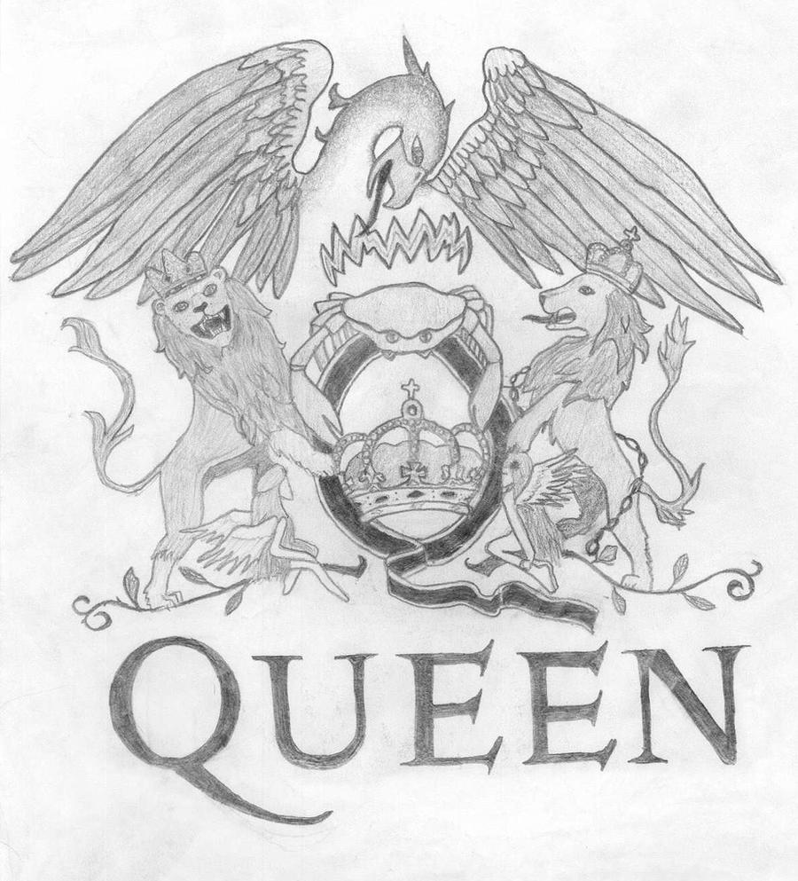Queen Band Logo Tattoo Queen logo by u...