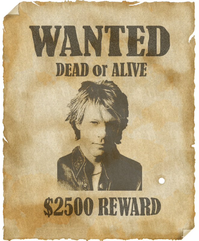 Wanted Dead or Alive by uberkid64 on DeviantArt