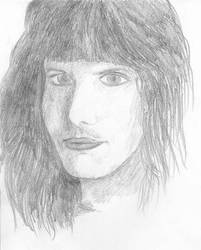 Freddie Mercury '73 by uberkid64