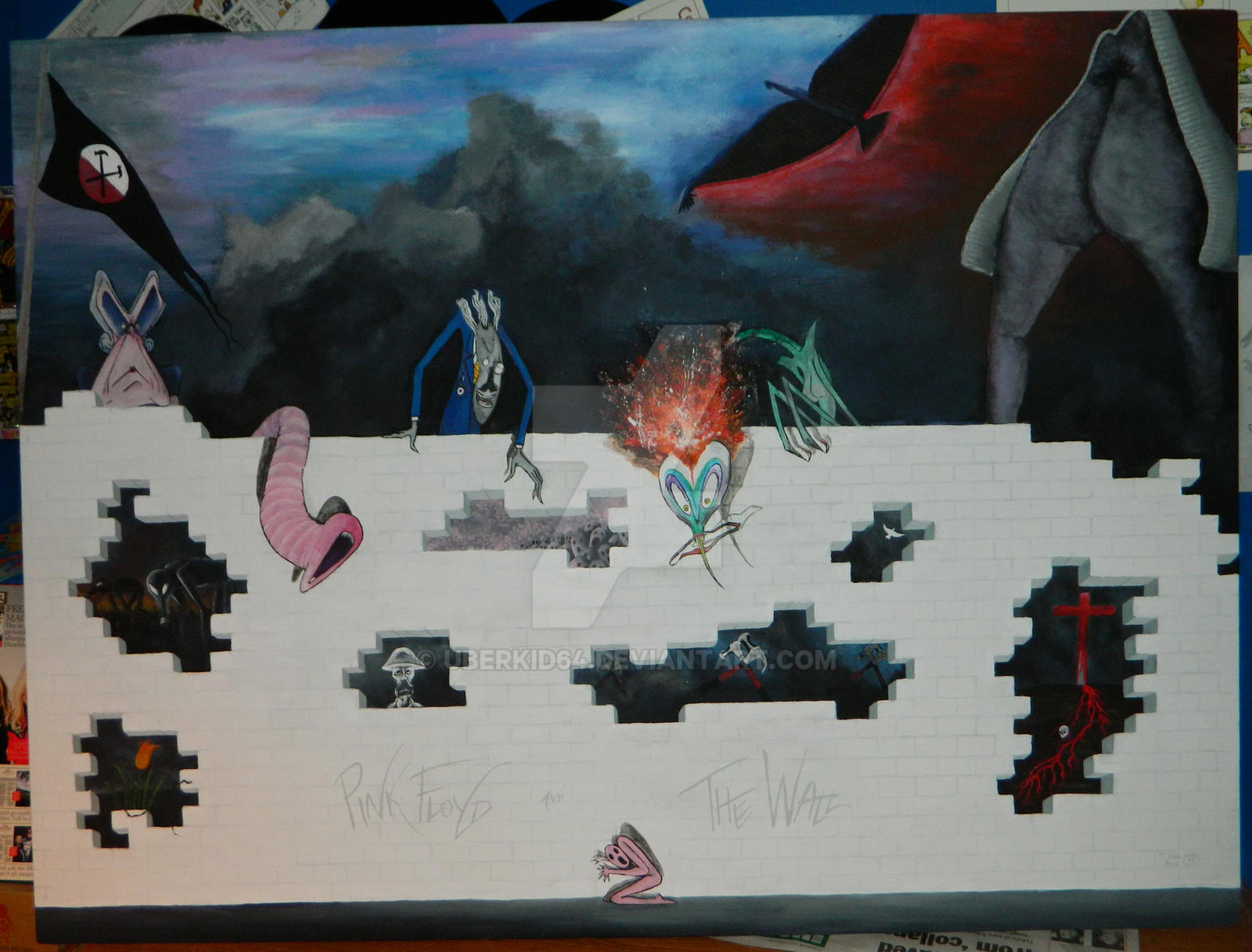 Pink Floyd The Wall Version 2 Finished By Uberkid64