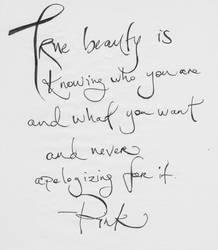 true beauty quote