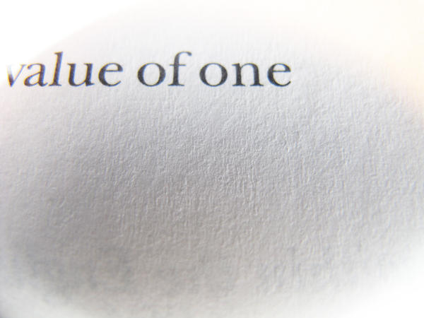 Value Of One