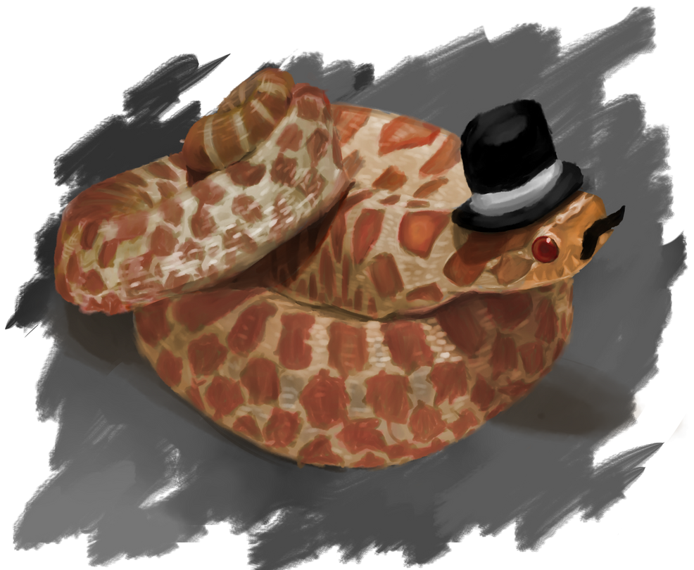 Posh Snake by GinJuice