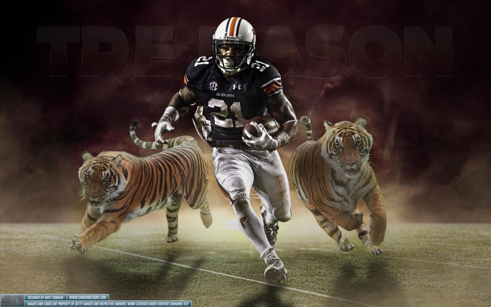 Tre Mason Auburn Tigers Wallpaper by Sanoinoi on DeviantArt
