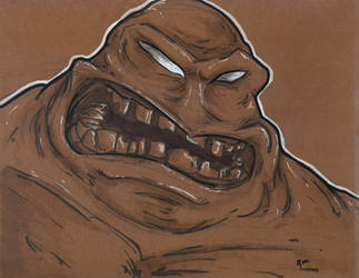 Lunchtime Sketch: Clayface