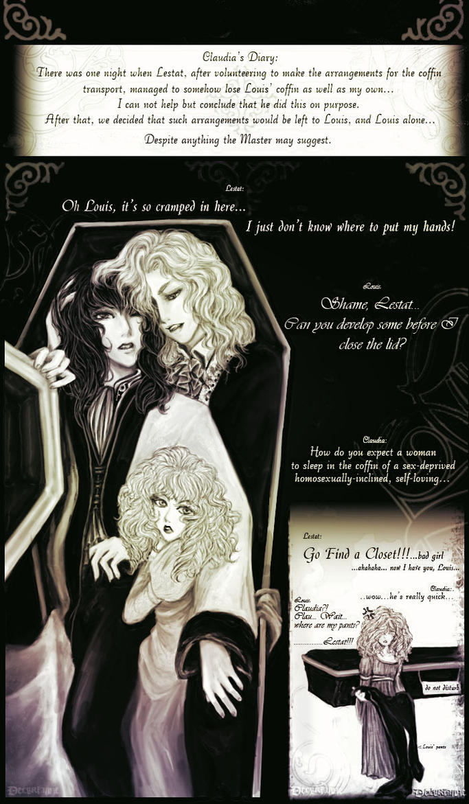 Lestat's Coffin by Delurianne