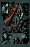 Jim Lee's Superman and Batman by commanderlewis