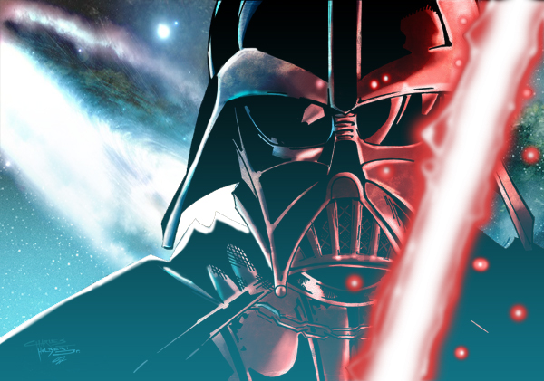 Darth Vader by commanderlewis