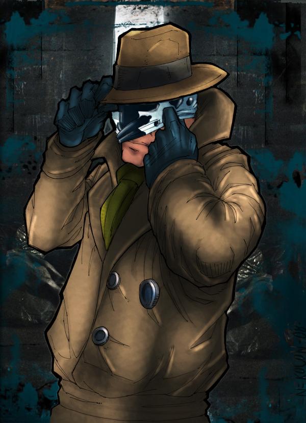 Rorschach of Watchmen by commanderlewis