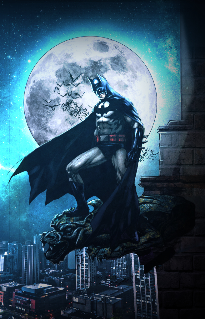 A Dark Knight by commanderlewis