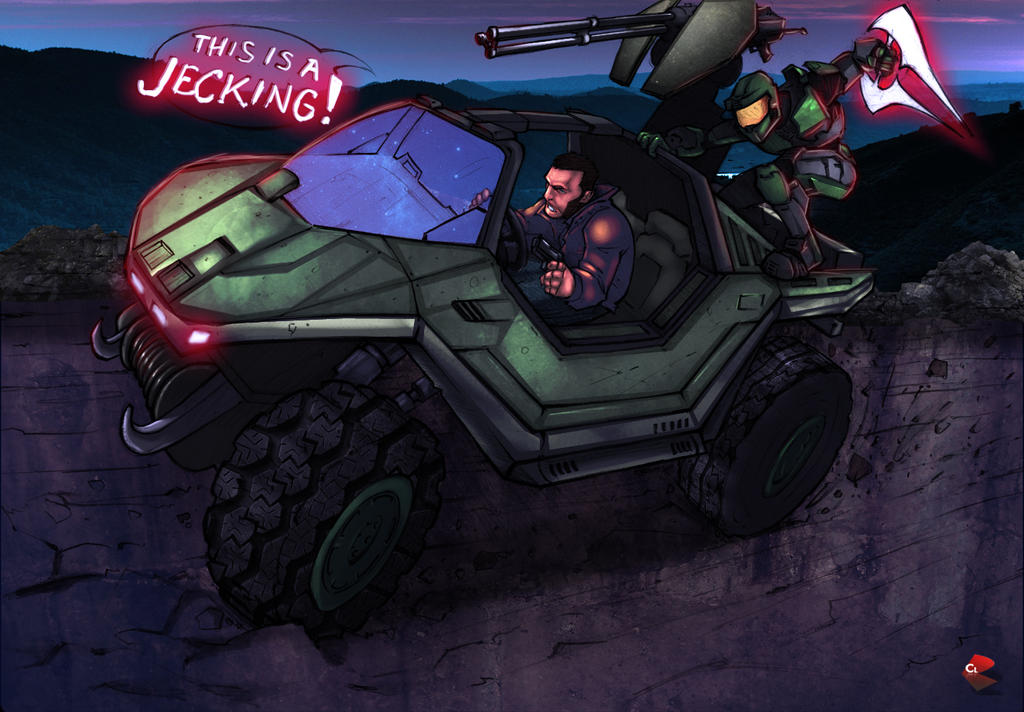 Grand Theft Auto HALO by commanderlewis