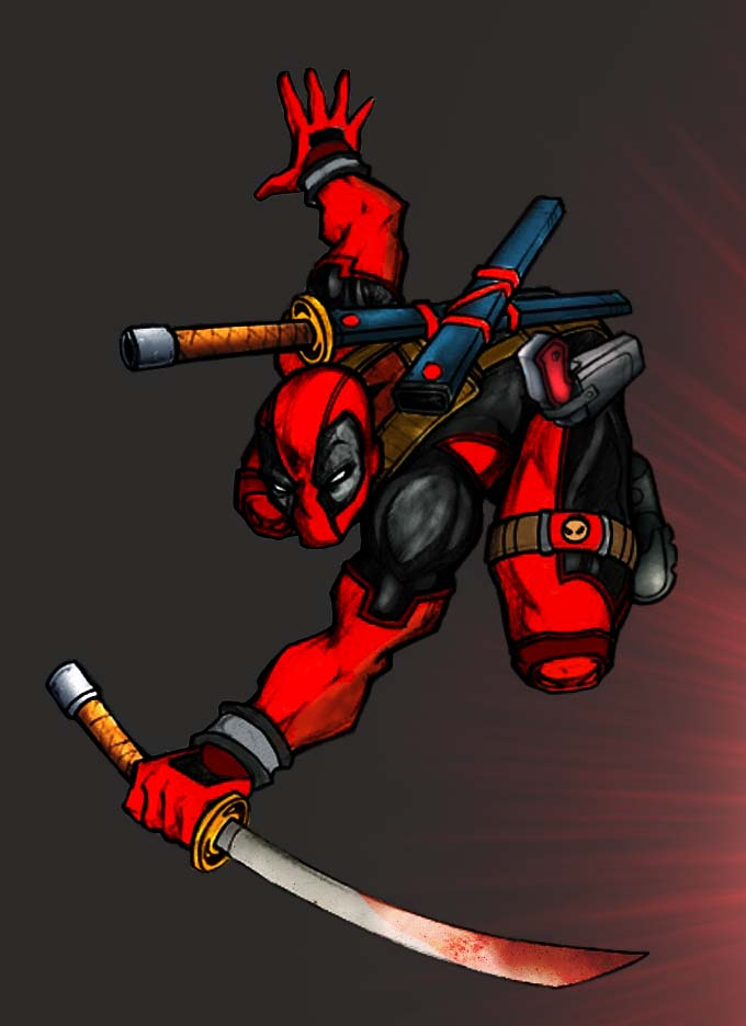 The Deadpool by commanderlewis