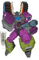 Megatron by commanderlewis