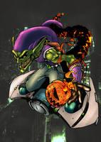 Green Goblin by commanderlewis