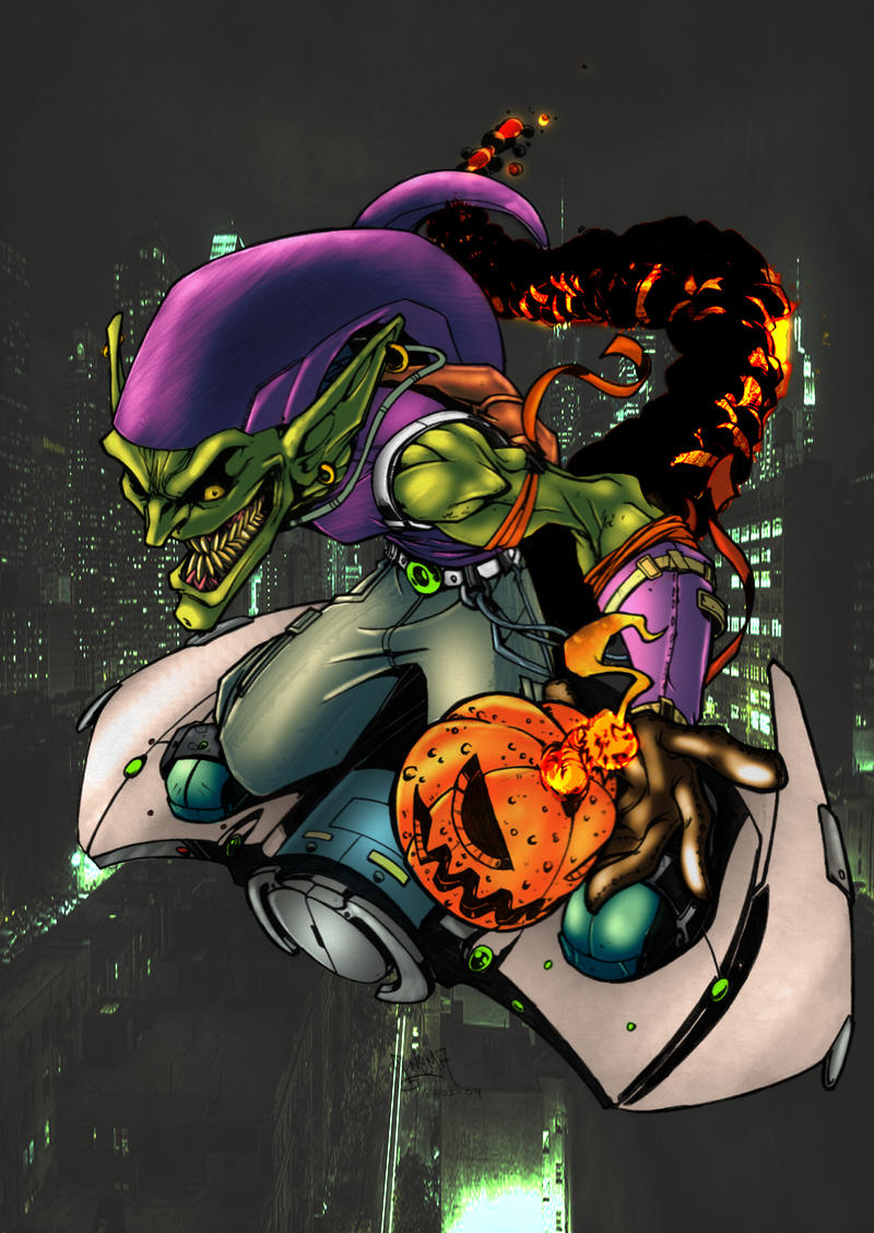Green Goblin by commanderlewis