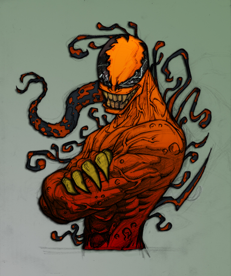 "Cool pictures Rated ""E"" for everyone - Page 2 Carnage_Villian_by_commanderlewis"