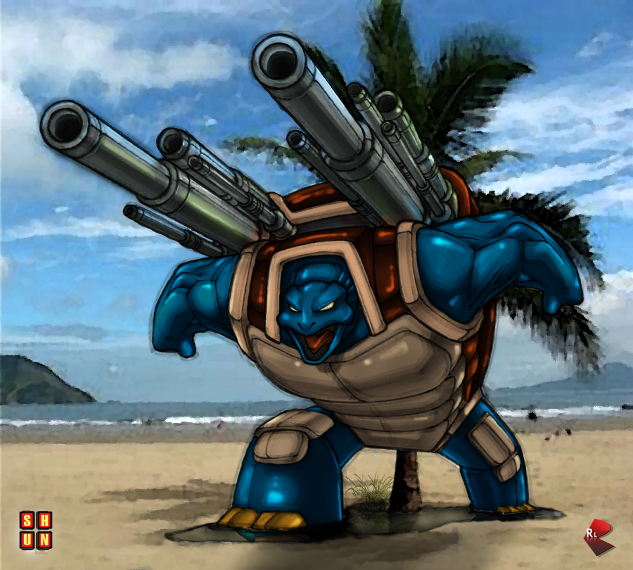 There Will Be Brawl - RISK Blastoise_by_commanderlewis