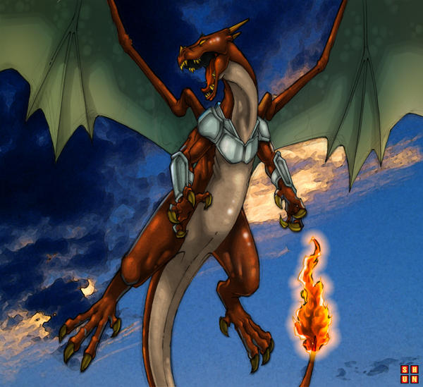 Charizard Black Special by commanderlewis