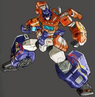 Optimus Prime by commanderlewis