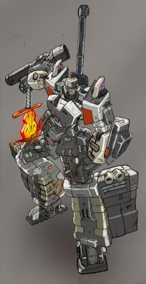 Megatron Decepticon Leader by commanderlewis