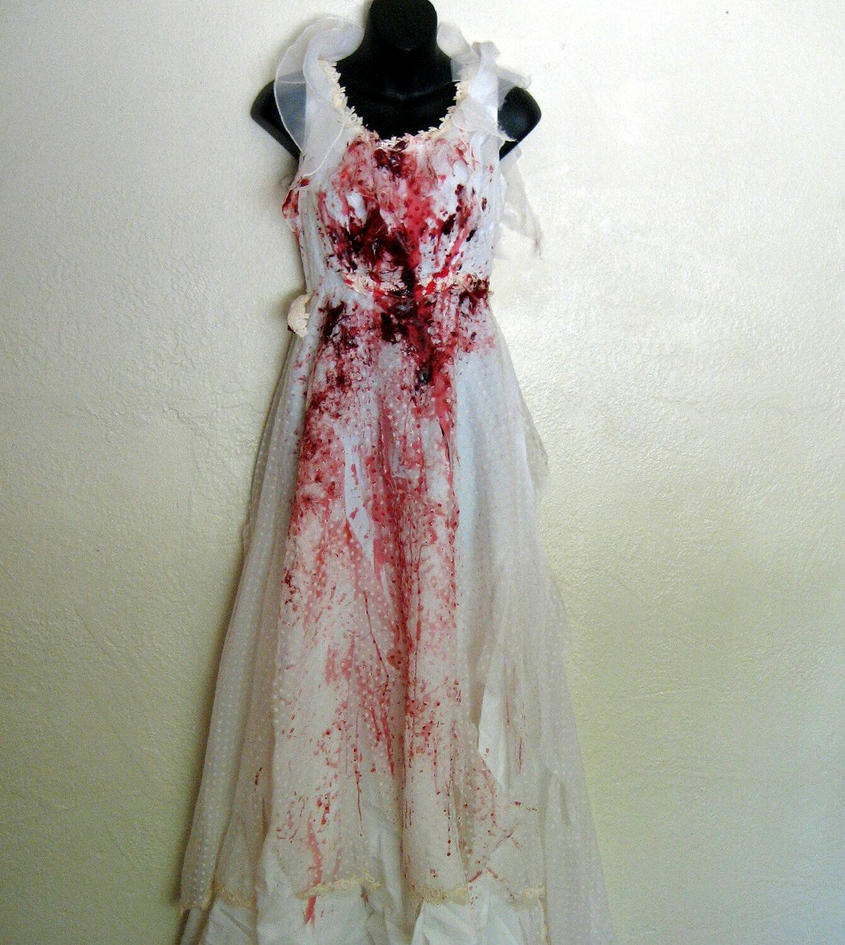 bloody dress by Sexiecutie5555