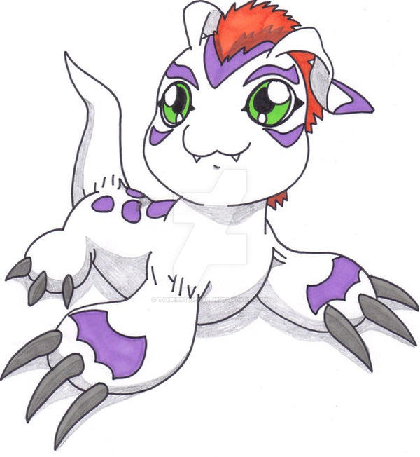 Gomamon by Taurustiger86